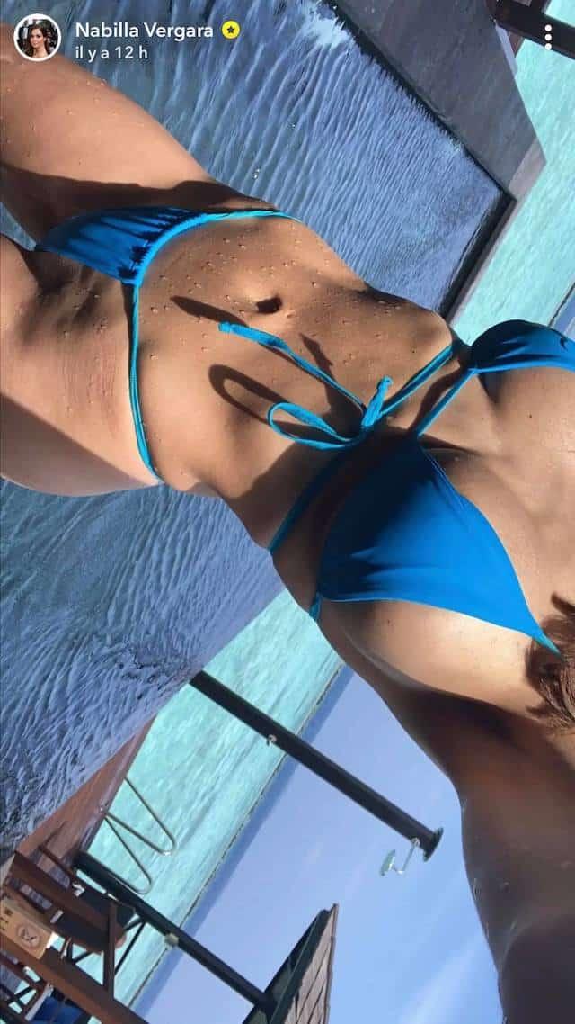 Nabilla torride en bikini ultra échancré: elle se dévoile sur Snapchat !