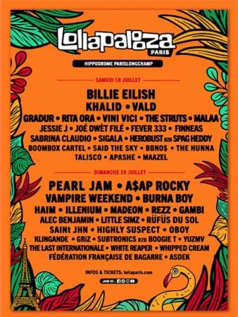 A$AP Rocky, Gradur, Gambi: l'affiche du Lollapalooza 2020 révélée !