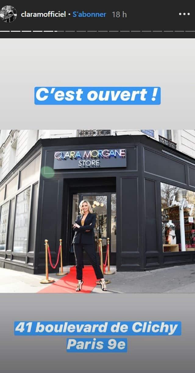 "Clara Morgane devoile son ""grand reve"" sur Instagram !"