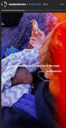 Christina Milian maman- une nouvelle photo de son petit Isaiah dévoilee 18022020--