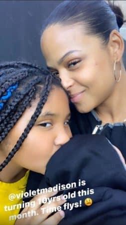 Christina Milian nostalgique: sa fille Violet s'apprête à passer un cap !