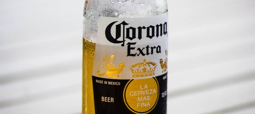 Corona: la bière en chute libre à cause du coronavirus !