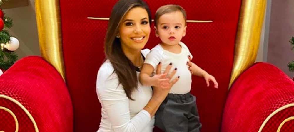 Eva Longoria et son petit Santiago fêtent la fin de semaine en danse !