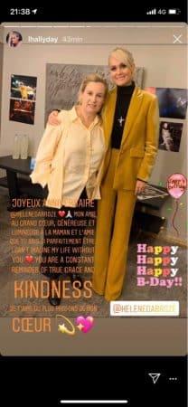 Laeticia Hallyday célèbre l'anniversaire de sa fidèle amie Hélène Darroze !