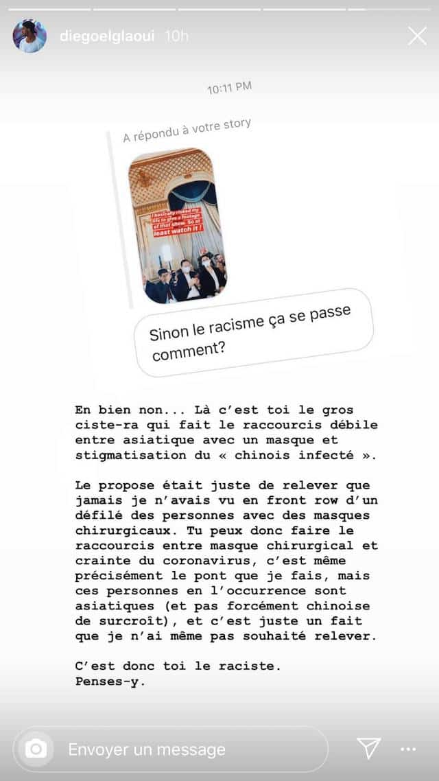 Iris Mittenaere: Diego El Glaoui accusé de racisme, il réplique !