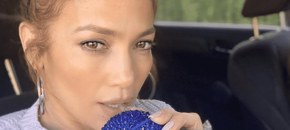 Jennifer Lopez très fière son fils Maximilian monte sur scène 1000