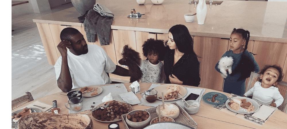 Kim Kardashian et Kanye West: le couple glamour prend la pose sur Instagram !