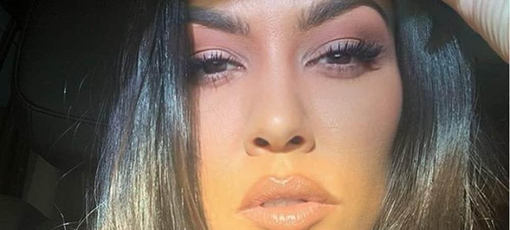 Kourtney Kardashian blessee au sport la photo qui fait mal