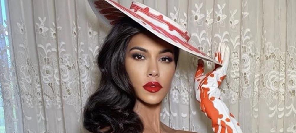 Kourtney Kardashian incendiaire: sa robe dos nu dévoile tout ! (PHOTO)