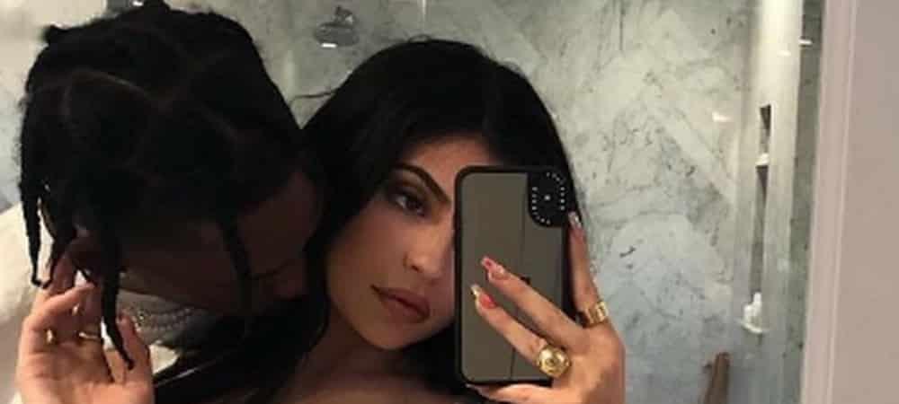 Kylie Jenner et Travis Scott se retrouvent avec Stormi !