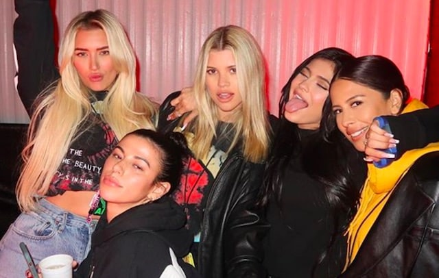 Kylie Jenner- une vidéo sexy de son girls trip dévoilée 29022020