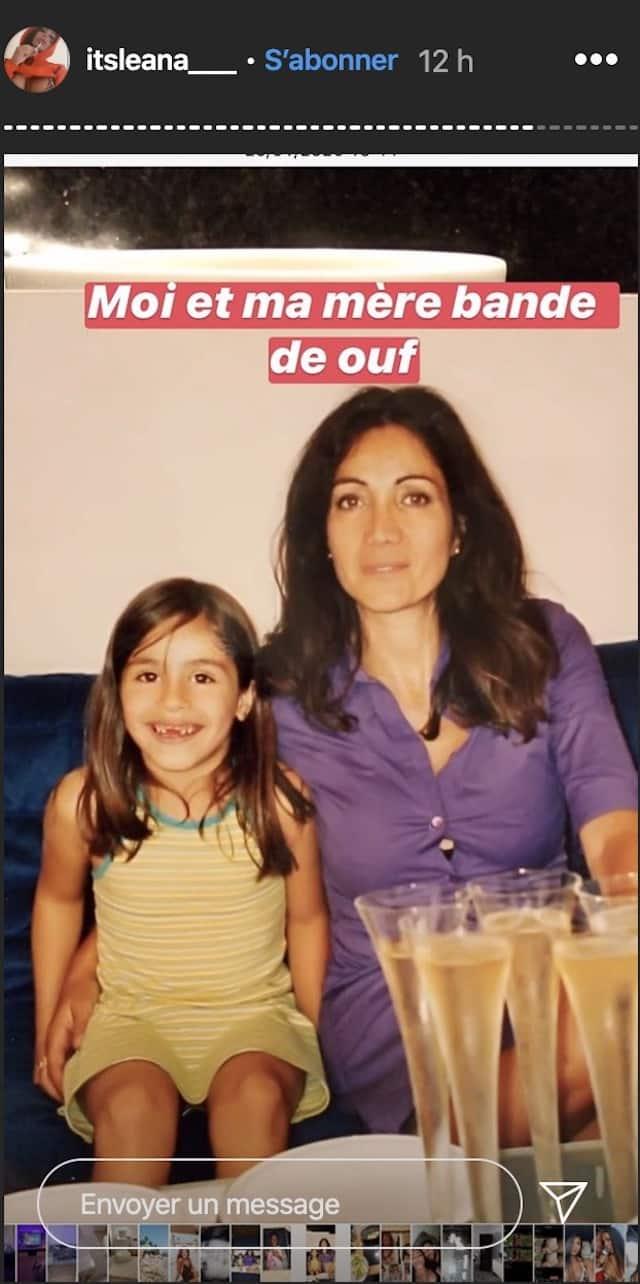 Léana Zaoui est le portrait craché de sa maman ! (PHOTO)