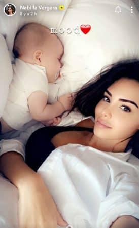 Nabilla: son adorable réveil au côté de son petit Milann !