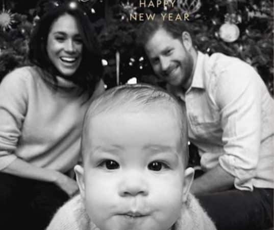 Bonne année de Meghan, Prince Harry et Archie