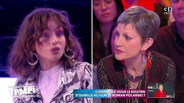 TPMP: Isabelle Morini-Bosc hausse le ton au sujet de Polanski !