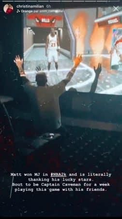 Christina Milian choquée par la réaction de M Pokora devant The Last Dance !