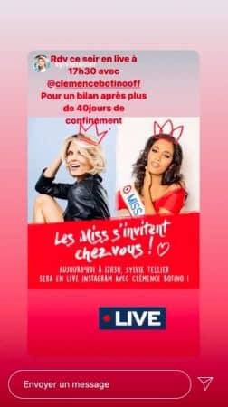 Clémence Botino (Miss France 2020): le bilan de 40 jours de confinement !
