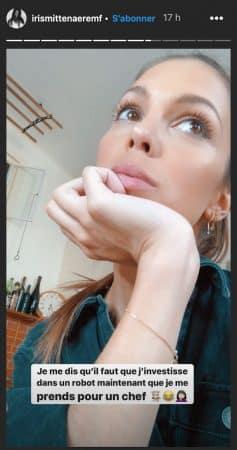 Iris Mittenaere accro à la cuisine, elle veut investir dans sa nouvelle passion 640