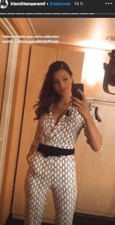 Iris MIttenaere sexy dans les coulisses de l'Euromillions sur TF1 !