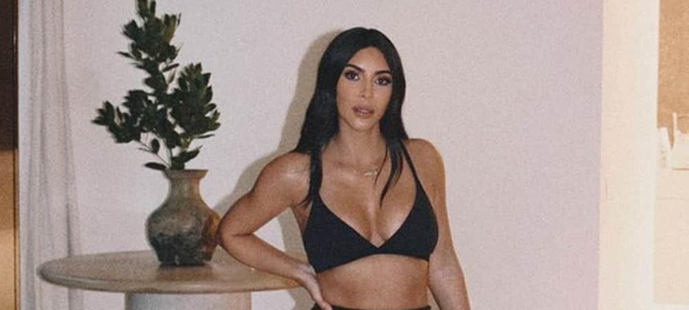Kim Kardashian continue de s'entraîner pendant le confinement1000