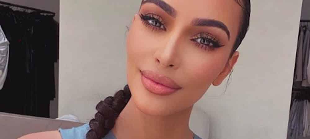 Kim Kardashian prouve qu'elle est sexy dès qu'elle sort du lit !