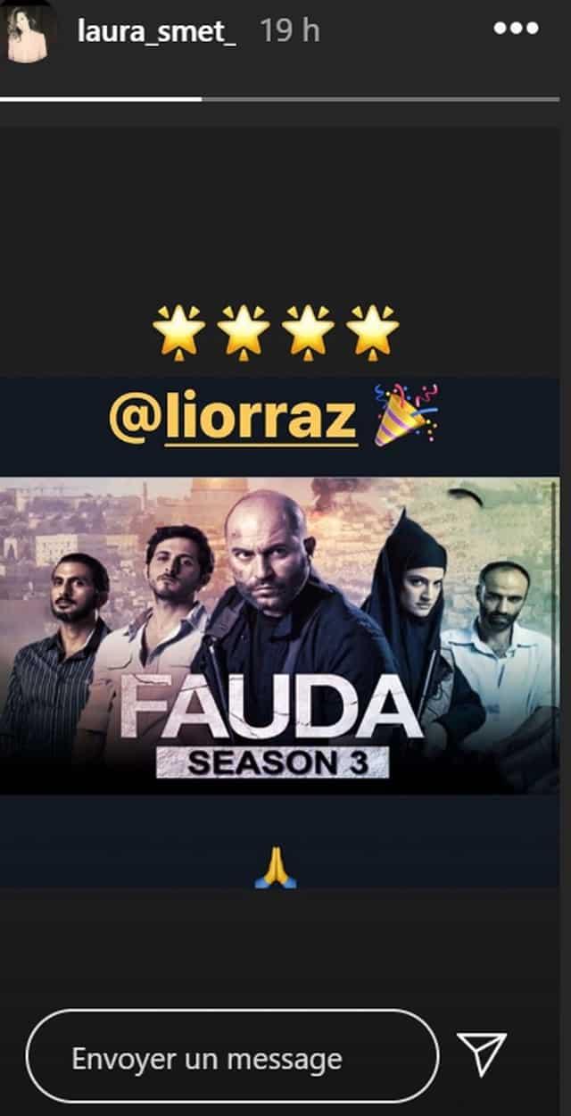 Laura Smet adore la série israélienne Fauda diffusée sur Netflix !