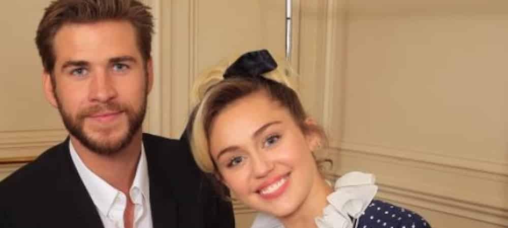 Miley Cyrus- Liam Hemsworth pose torse-nu dans son lit sur Instagram 1000