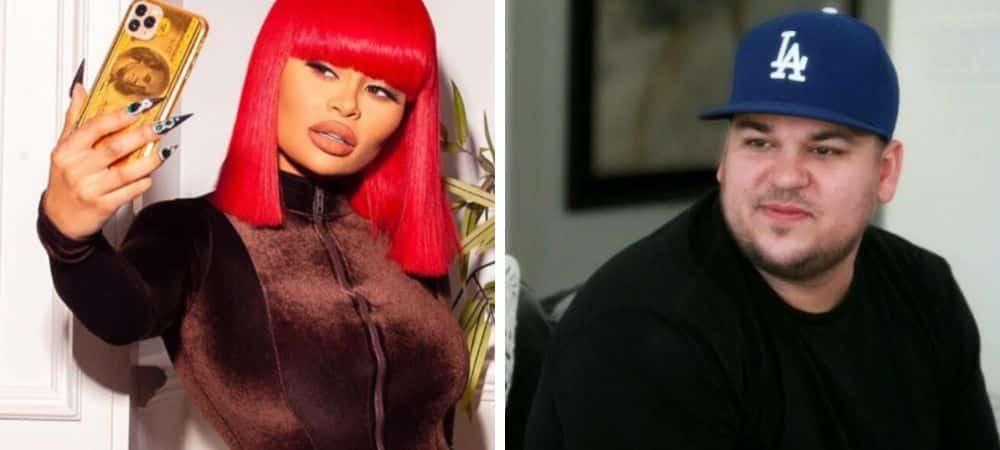Rob Kardashian/ le frère de Kim menacé par Blac Chyna avec une arme ?