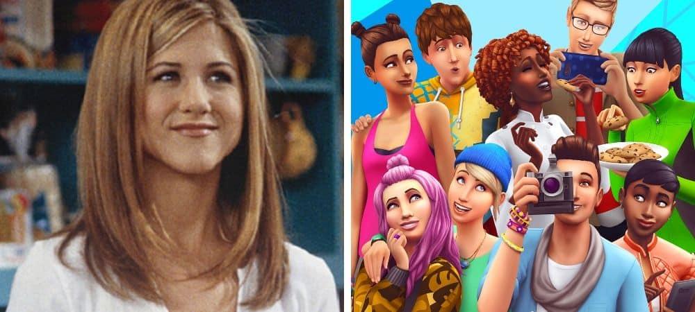 Sims 4: l'appartement de Rachel (Jennifer Aniston) dans Friends recréé