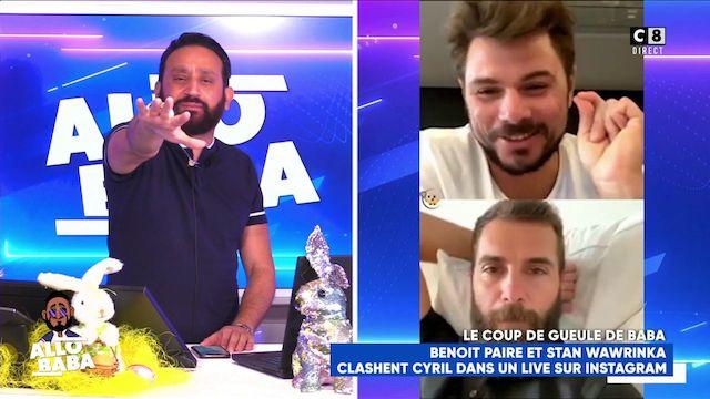 TPMP- Cyril Hanouna lance un défi à trois stars du tennis français en direct 640