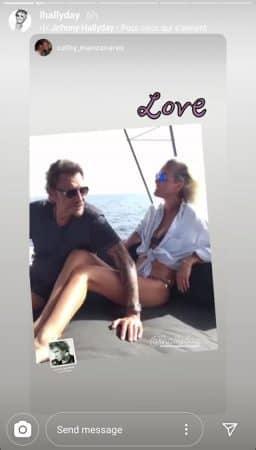 Laeticia Hallyday très nostalgique de ses vacances avec Johnny !