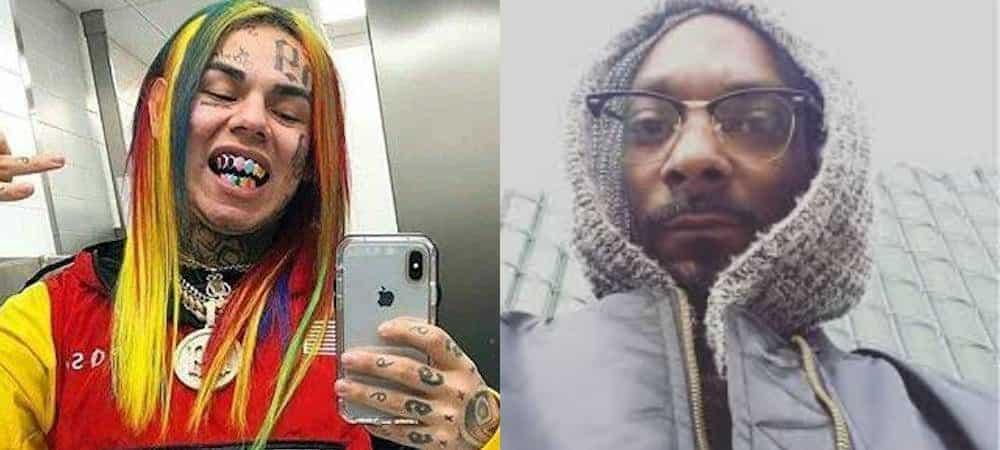 6ix9ine dévoile une vidéo de Snoop Dogg en train de tromper sa femme !