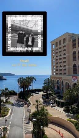 Agathe Auproux profite à fond de Monaco avec son nouveau chéri !