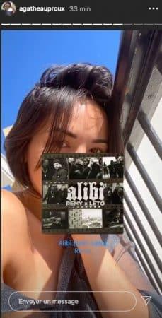 Agathe Auproux s'affiche en petite tenue sur son balcon !