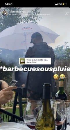 Agathe Auproux se fait une journée barbecue pour le déconfinement !