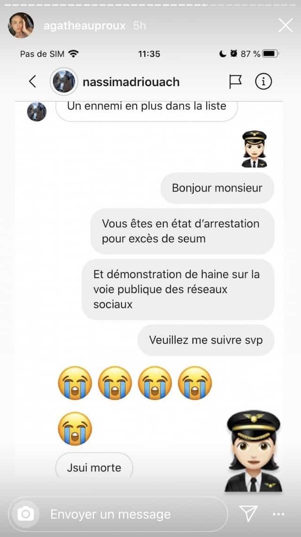 Agathe Auproux se transforme en policière anti-haters sur Instagram !