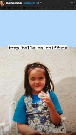 Agathe Auproux: ses photos d'enfance vont vous étonner !