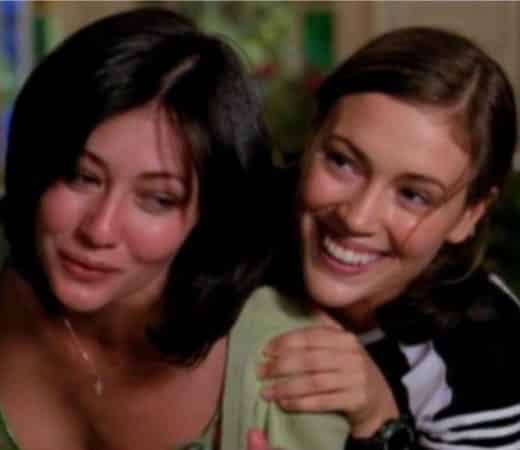 Alyssa Milano et Shannen Doherty (Charmed) se sont réconciliées !