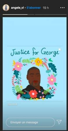 Angèle totalement bouleversée par la mort de George Floyd !