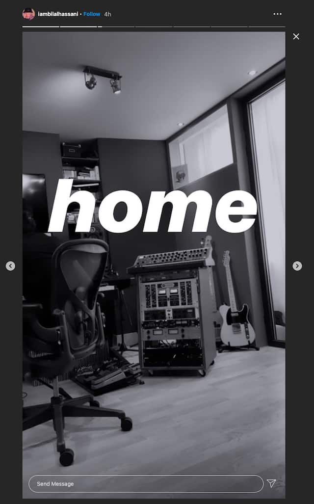 Bilal Hassani est de retour en studio après le confinement !