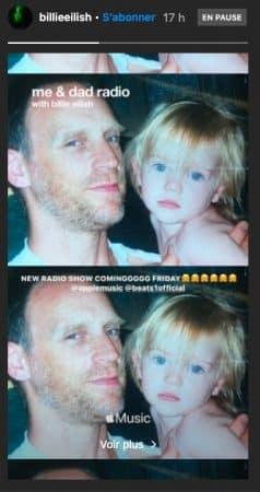 Billie Eilish s'apprête à faire une émission de radio avec son père !