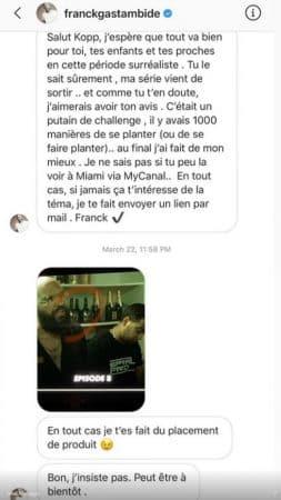 Booba fait des révélations sur Franck Gastambide et le met à terre !