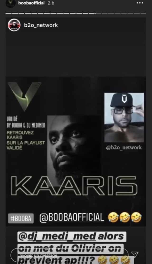 Booba se moque une nouvelle fois de Kaaris dans la playlist «Validé» !