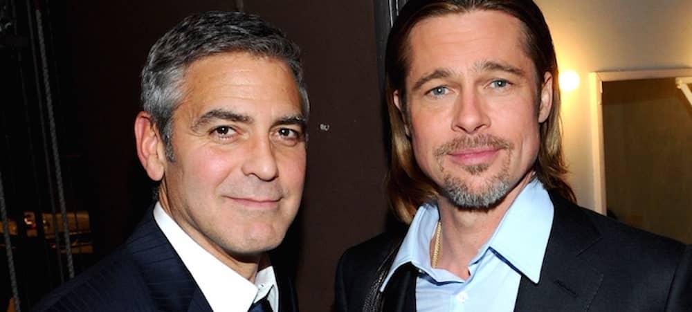 Brad Pitt: comment est-il devenu ami avec George Clooney ?