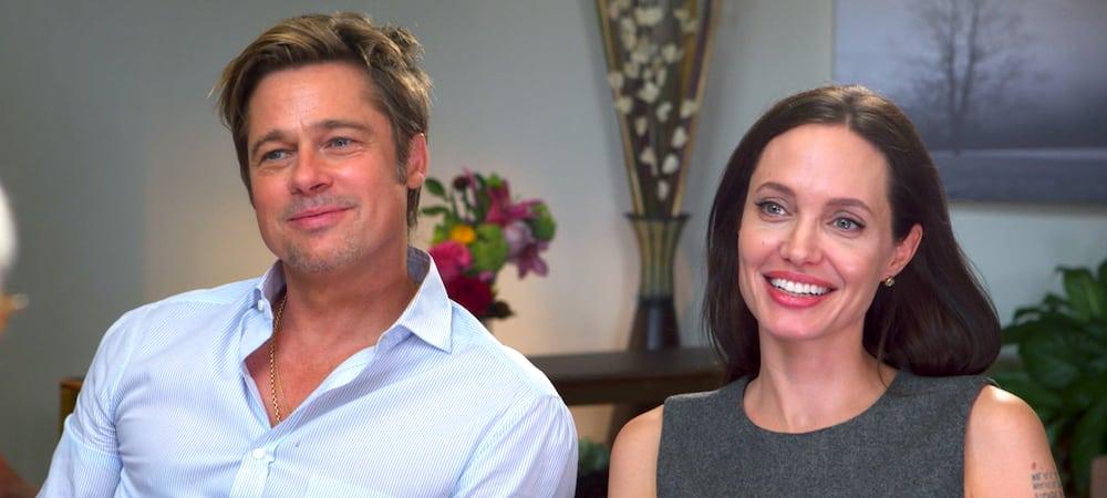 Brad Pitt et Angelina Jolie- les ex ont enterré la hache de guerre 1000