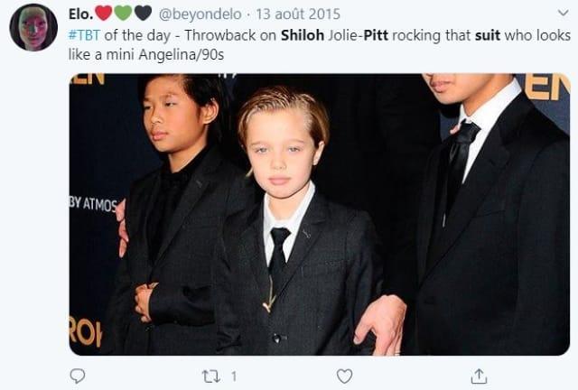 Brad Pitt n'accepte pas les choix vestimentaires de sa fille Shiloh !