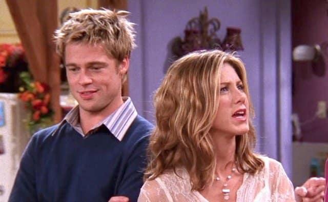 Brad Pitt souvent sur le plateau de Friends pour voir Jennifer Aniston !