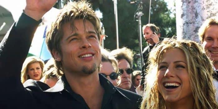 Brad Pitt et Jennifer Aniston au début des années 2000
