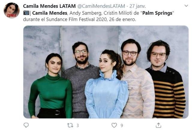 Camila Mendes bientôt de retour au cinéma dans Palm Springs !