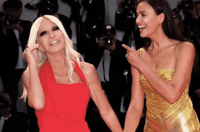 Irina Shayk célèbre les 65 ans de Donatella Versace sur Instagram !